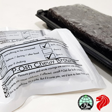 ★FREE DELIVERY★ P.Osh Chewy Brownie Stash (12 pcs vacuum packed and frozen)