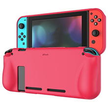 JETech Protective Case for Nintendo Switch 2017, Grip Cover with Shock-Absorption and Anti-Scratc...