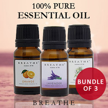 1+1+1 Special! 3 for $9.90 ONLY✮✮  BREATHE  Pure and Natural Essential oils✮✮