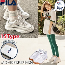 [FILA] [Free Gift] ♥ 100% Authentic ♥ FILA RAY Couple Shoes / Sneakers / DISRUPTOR 2