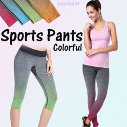 19781e69778 Sports Pants   Yoga Leggings ☆ Premium Long Bottom Trousers Breathable  Comfortable Tight Gym Wear