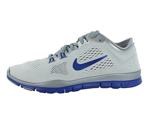 finest selection 8bd65 52f39 fit to viewer. prev next. NIKE Nike Free 5.0 Tr Fit 4 Team White Game Royal Wolf  Grey Womens ...