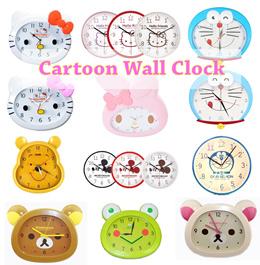 ♥ Hello Kitty/ Melody/ Rilakkuma/ KorRilakumma/ Pooh Wall Clock ♥ Battery Operated