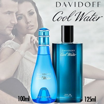 Perfume DAVIDOFF COOL WATER for WOMEN 100ML EDT spray / 125 ml Men Tester Packaging