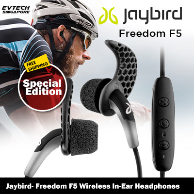 69f25bcb331 Qoo10 - Jaybird- Freedom F5 Wireless In-Ear Headphones - Black Special  Edition : Mobile Devices