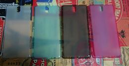 sony xperia c5 ultra translucent case cover