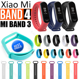 Xiaomi Mi Band 4 3 Strap Barcelet Colorful Silicone Strap For Miband 3 Replacement Smart Band Case