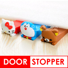 Child Safety Cartoon Silicone Door Stopper Teachers Day Children Day Gifts Goodie Bag Christmas