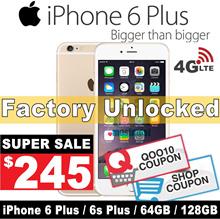 (MAKE $245 )iPhone 6 plus / 6s Plus / 64GB 128GB / Unlocked / Condition:9.9/10 / Refurbished Set