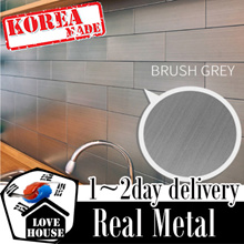 ★New Arrival★Ver Block Stainless Steel D.I.Y Interior Tile Peel and Sticker wallpaper furniture deco