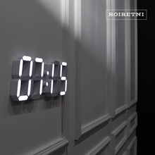 [ROIRETNI] Smart LED Digital Wall Clock - Made in KOREA