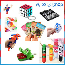 [BULK BUY= 10pcs/SET]Party Packs Goodie Bag Birthday Gifts Board games Children Day Party Supplies