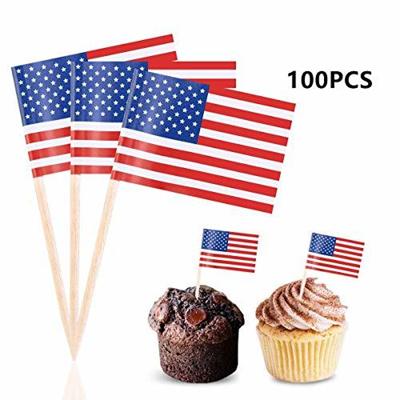 "200 Japan Japanese Mini 2.5/"" Flag Appetizer /& Party Decoration Picks Toothpicks"