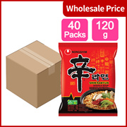 (Pack of 40) Nongshim Shin Noodle Ramyun, Gourmet Spicy Picante, 4.2-Ounce Packages