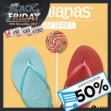 ★50% Shop Coupon + $10 Cart Coupon !!!★ [Havaianas] SLIM SERIES. World No.1 Flip Flop. 100% Authentic