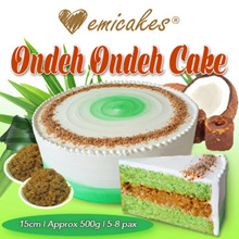 [Emicakes] Qoo10 EXCLUSIVE! Best-selling Ondeh Ondeh Cake♥