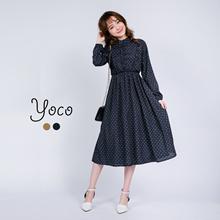 YOCO - Polka Dotted Dress-170101