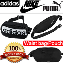 [100% authentic] Waist bags AdidasNIKEPUMA Bags / Small Bag / Sling bags / GYM Bag