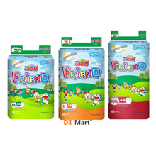 Goo.N Friend Pants Super Jumbo [ M Size 58pcs / L Size 48pcs / XL Size 42pcs / XXL Size 34pcs x2 ] (GooN Doraemon Edition Diapers Pampers Nappies Lampin Baby Product)
