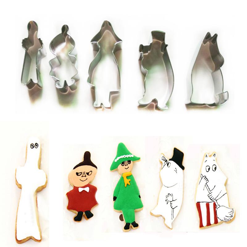 Cartoon Character 293 Cookie Cutter Set