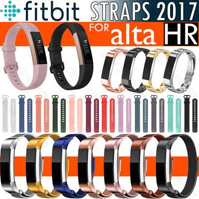 Watches, Parts & Accessories Alta Hr Fitness Technology Cooperative Leather Watch Band Loop Strap Replacement Bracelet For Fitbit Alta