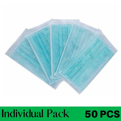 Adult Green 50PCS Individual Pack with BOX
