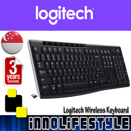 ★Free Shipping★ Logitech K270 Wireless Keyboard. ★3 Years Logitech Warranty★