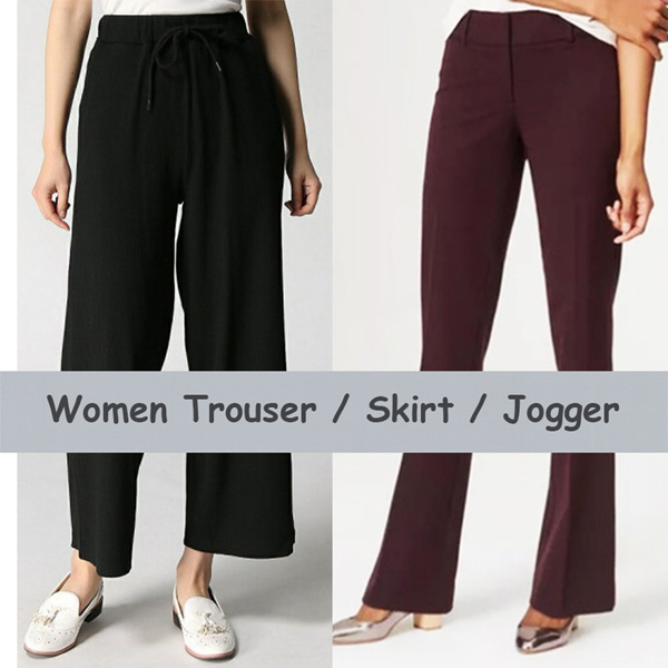 FLATPRICE BEST SELLER WOMEN PANTS TROUSER SKIRT Deals for only Rp88.000 instead of Rp382.609