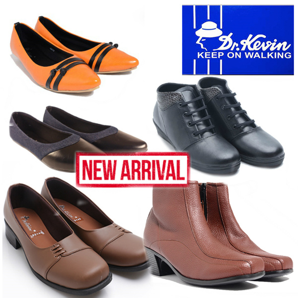 NEW ARRIVAL Dr.Kevin Women Flat Shoes-Boots Deals for only Rp148.000 instead of Rp148.000