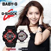 [1 Yr Warranty!]Shock Resistant World Time Casio Baby-G Analog Digital BA-110 Womens Watch