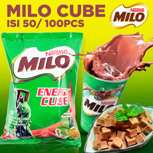 ANEKA Milo Energy Cube Deals for only Rp29.000 instead of Rp29.000