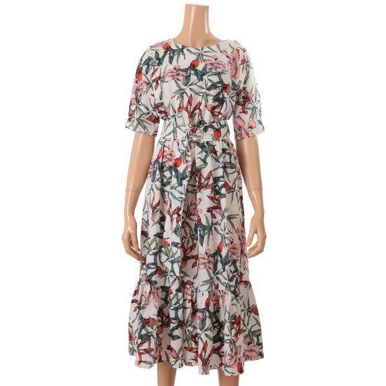 ルピタL172TOP604フラワーワンピース 面ワンピース/ 韓国ファッション
