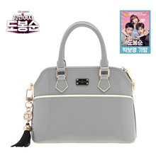 [Autherized Sale] PAULS BOUTIQUE Do Bong Soon(Park Bo Young) Mini Daisy Grey Bag from Korean Drama