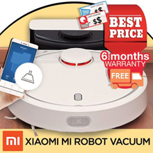 [Promotional Offer] Xiaomi Gen 1 Robot Vacuum with Local Warranty - MinihelpersSG