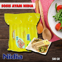 ( FREE SHIPPING JABODETABEK ) Nidia Sosis Ayam Long 500gr