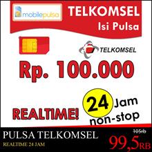 Pulsa Telkomsel Rp. 100.000