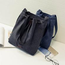 Sun seed Song Hye Kyo Korean dramas with single shoulder tote bags canvas bags slung casual Korean v