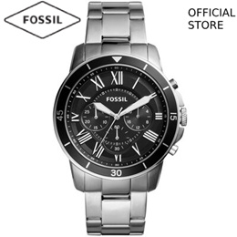 818be663aab  FOSSIL OFFICIAL STORE  FOSSIL GRANT SPORT CHRONOGRAPH SILVER STAINLESS  STEEL WATCH FS5236