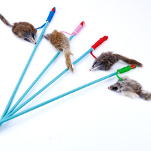 Special cat toy Rabbit rat-like fishing rods make great funny cat and cats Rod interactive pet suppl