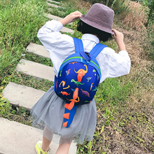 2018 Safety Cartoon Dinosaur Baby Toddler Anti lost Leash Harness Strap Walker Baby Lunch Bag Kinder