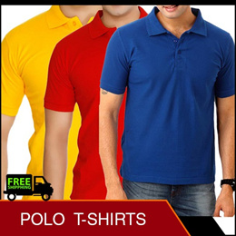 11.11 MEGA SALE Polo Neck T Shirt Polyester Unisex Black Blue Red Navy PINK Grey White Green  [CES]