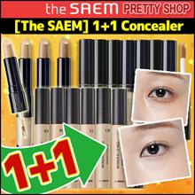 [The SAEM] 1+1  Concealer (Liquid Concealer / Pot Concealer/ Ideal Concealer Duo)