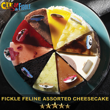 Fickle Feline Assorted Cheesecake by Cat and the Fiddle from Celebrity Chef Daniel Tay!