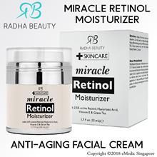 Radha Beauty Miracle RETlNOL Moisturizer Anti-Aging Facial Cream 50ml