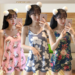 Buy 3 Free Shipping /Women Pajamas Set /Girl Sleepwear /Home wear/dress/lingerie/Suspenders/sexy