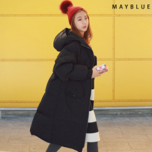 [Mayblue] ★ Free Shipping ★ ♥ Korea EC site a big hit! Commodity ♥♥ Limited Item ♥♥ over silhouette long down coat