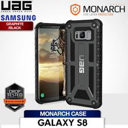 UAG Samsung Galaxy S8 Monarch Case Graphite/Black
