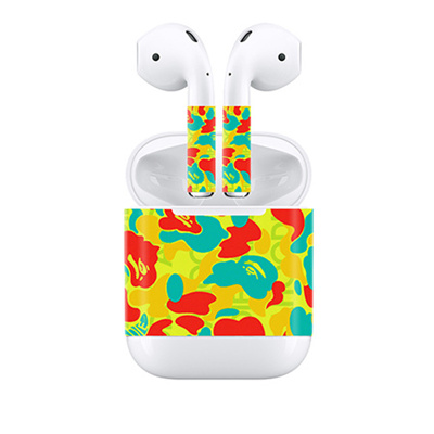 4e25ae4513a discount Custom Design Vinyl Wrap 2018 For Apple AirPods Skins Full Body  Protective Decal Sticker 3M