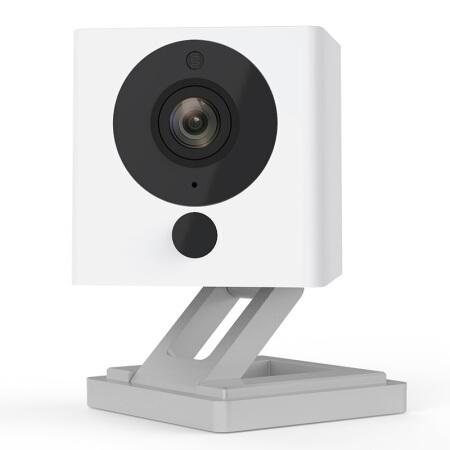 小方智慧攝像1S★080P超清分辯率/紅外夜視/組合玩法/延時攝影/手機直連,沒網也能用/移動電源供電