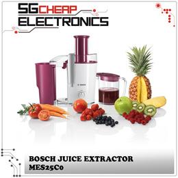BOSCH MES25C0 Juice Extractor - Singapore Warranty